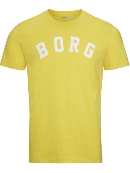 Pánské tričko Björn Borg Berny Tee Maize Yellow žluté