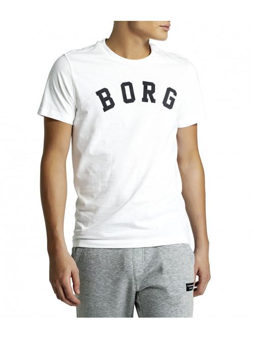 Tričko Björn Borg Berny Tee Brilliant White bíl...