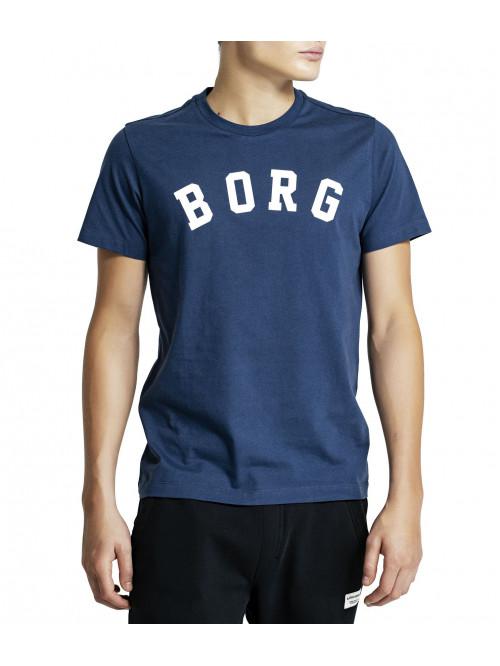 Pánské tričko Björn Borg Berny Tee Insignia Blue modré