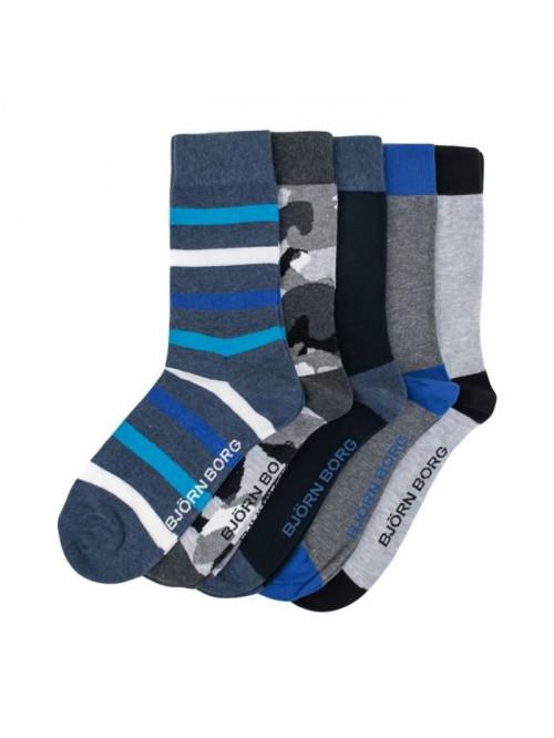 Ponožky Björn Borg Essential 5-pack