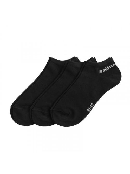 Ponožky Björn Borg Essential černé 3-pack