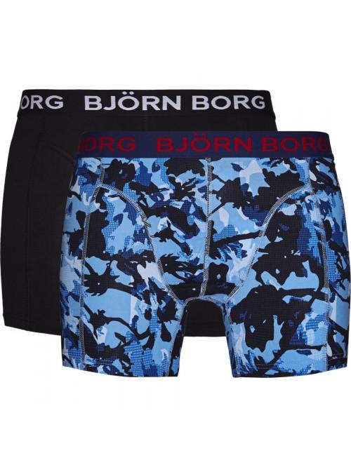 Pánské boxerky Björn Borg Branch Cotton Stretch 2-pack