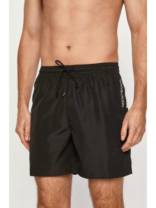 Pánske plavky Calvin Klein Medium Drawstring černé