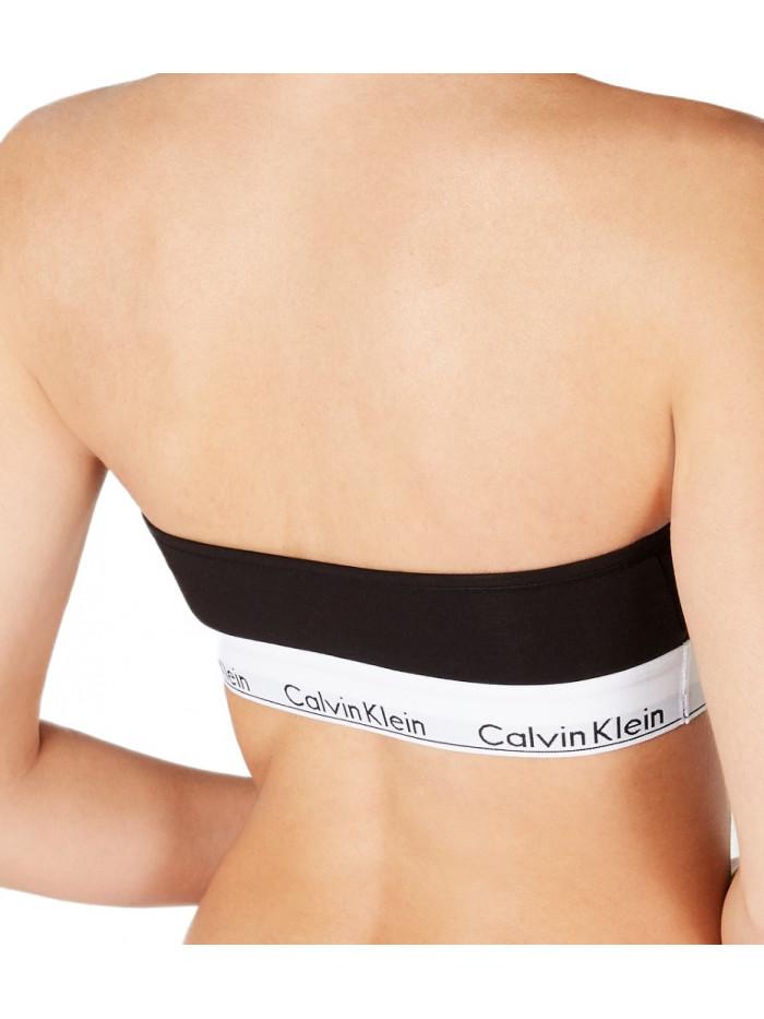 Dámska podprsenka Calvin Klein Unlined Bandeau černá
