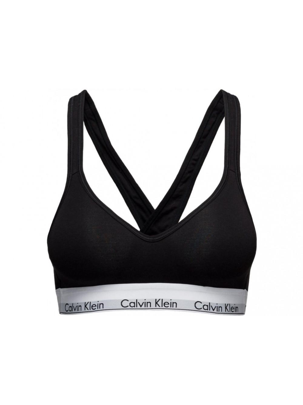 Dámská sportovní podprsenka Calvin Klein Bralette Lift černá