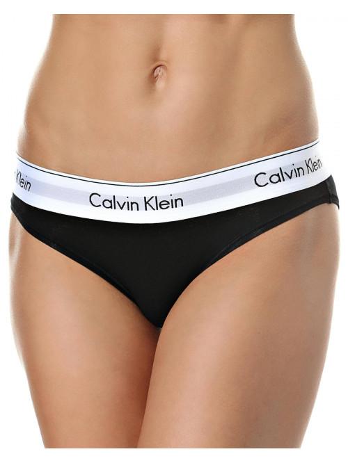 Dámské kalhotky Calvin Klein Modern Cotton Bikini černé