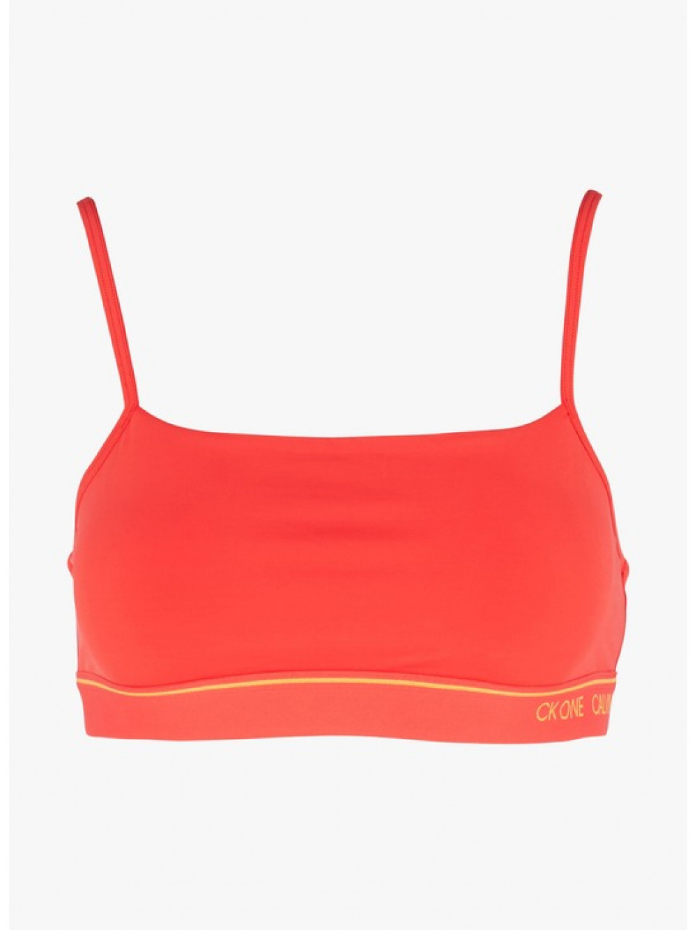 Dámská sportovní podprsenka Calvin Klein CK ONE Unlined Bra červená