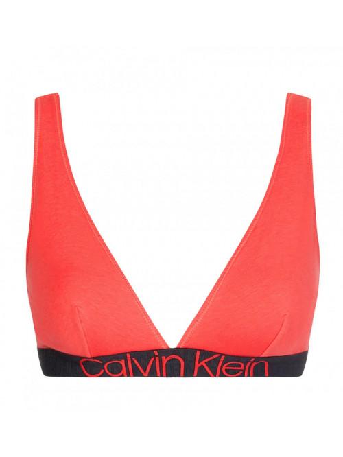 Dámská podprsenka Calvin Klein Unlined Triangle červená