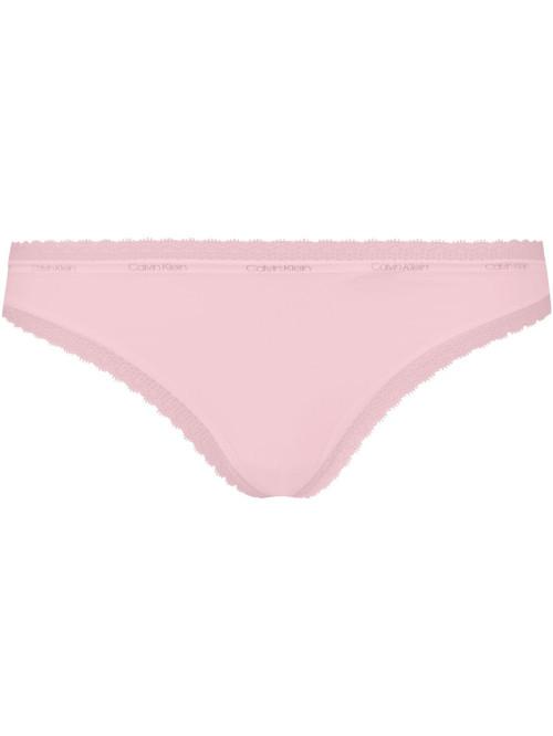 Dámská tanga Calvin Klein Bottoms Up Refresh string růžové