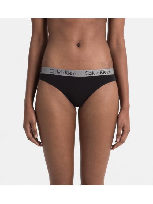 Dámská tanga Calvin Klein Radiant Cotton Thong čer...