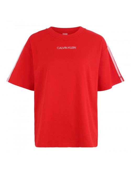 Dámské tričko Calvin Klein SS Crew Neck červené