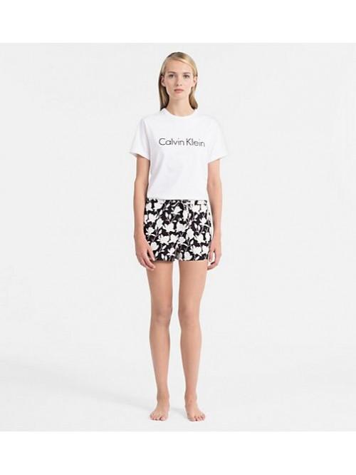 Dámské tričko Calvin Klein S/S Crew Neck bílé