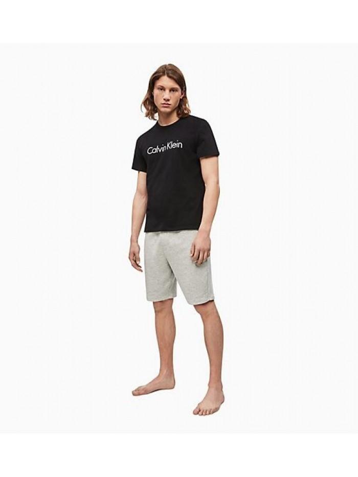 Pánské tričko Calvin Klein Comfort Cotton SS Crew Neck černé