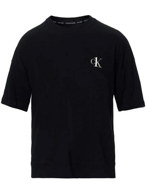 Pánské triko Calvin Klein CK ONE SS Crew Neck černé