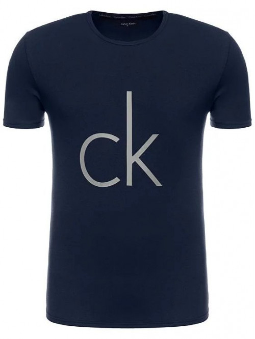 Pánské tričko Calvin Klein SS Crew Neck modré