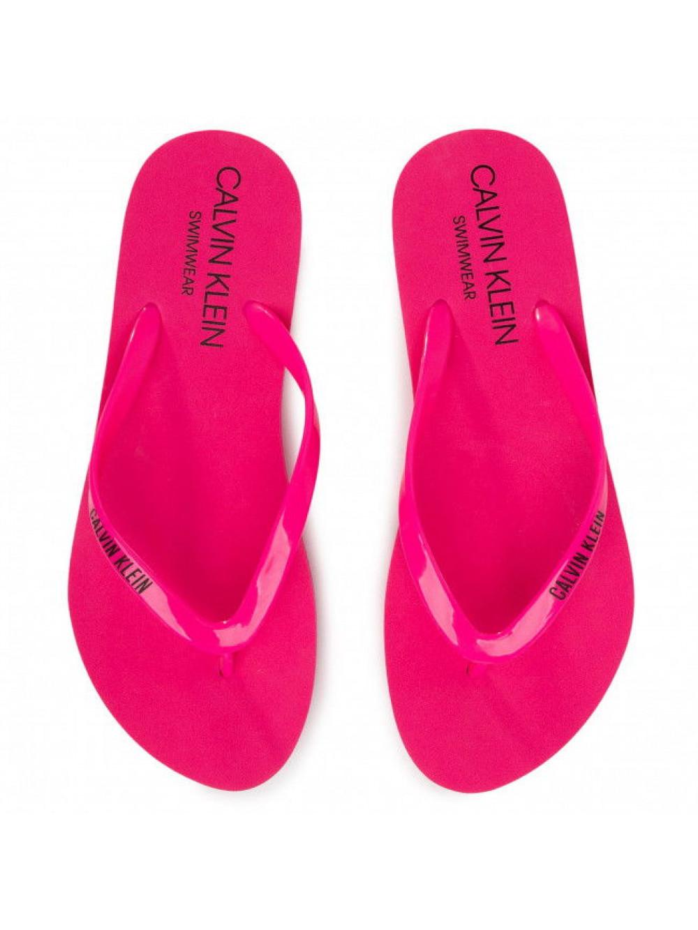 Dámské žabky Calvin Klein Swimwear růžové