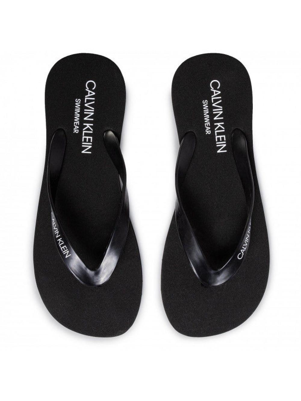 Pánské žabky Calvin Klein Swimwear černé