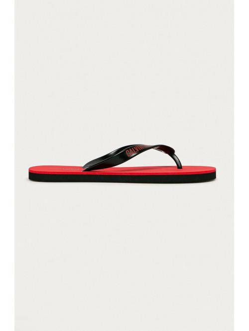 Pánské žabky Calvin Klein Swimwear červené