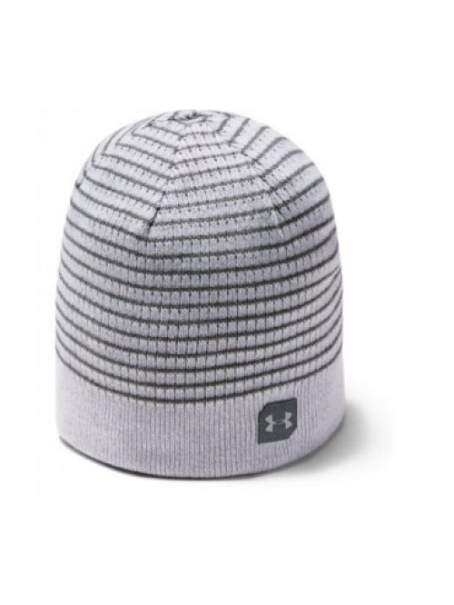 Pánská čepice Under Armour Men's Reversible Golf Beanie Šedá