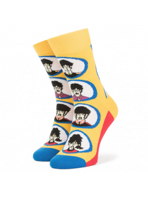Ponožky Happy Socks The Beatles Submarine žluté