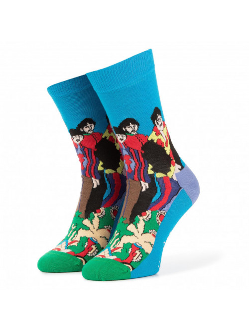 Ponožky Happy Socks Pepperland x The Beatles modré
