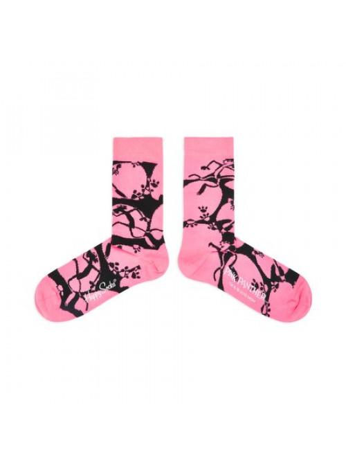 Ponožky Happy Socks Pink Panther A-Boo růžové