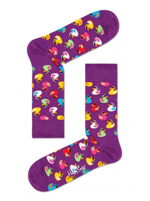 Ponožky Happy Socks Rubber Duck fialové