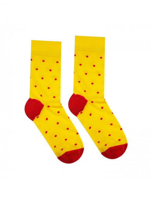 Ponožky Gentleman Žlutý Hesty Socks