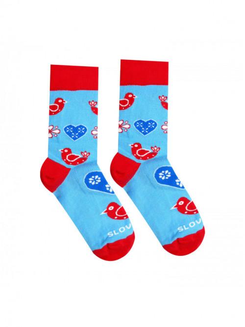 Ponožky Lidový ptáček Hesty Socks