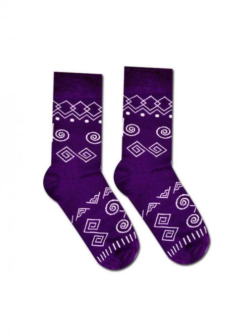 Ponožky Čičman Hesty Socks fialový