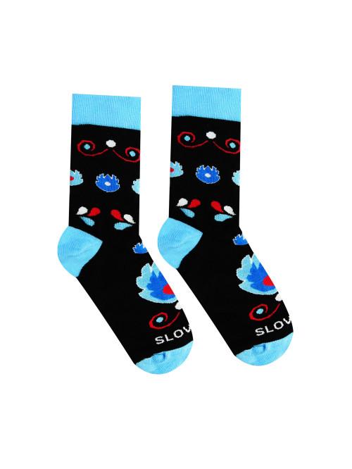 Ponožky Lidový květ