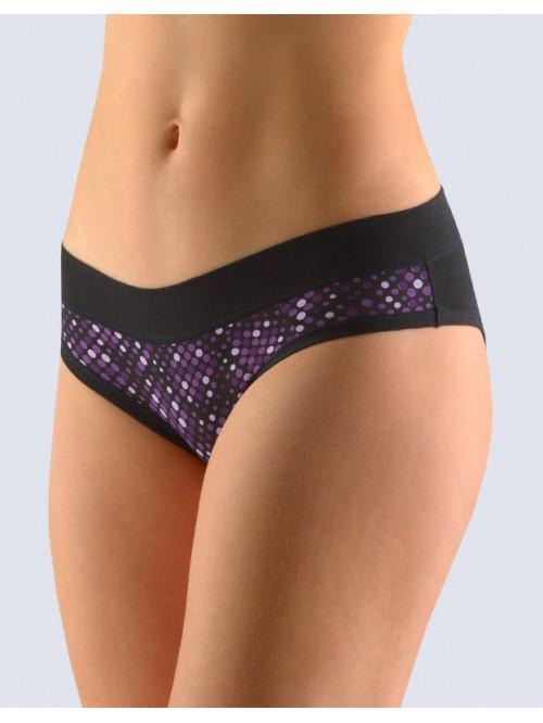 Kalhotky Gina Purple Dots