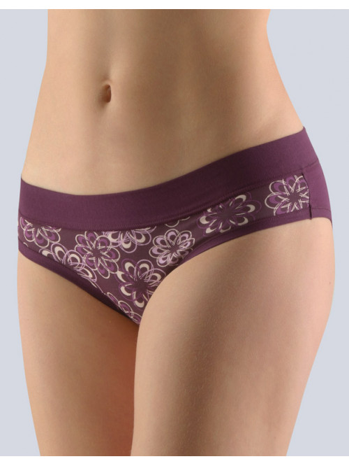 Kalhotky Gina Ornament Violet