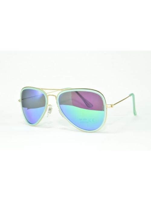 Sluneční brýle Aviator Pilot XS green