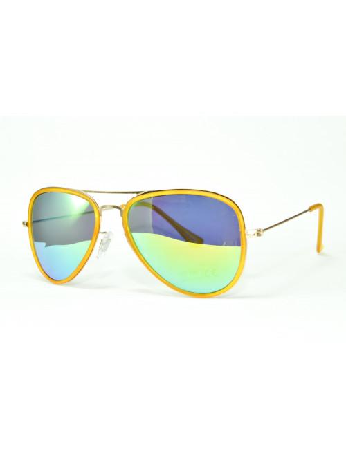 Sluneční brýle Aviator Pilot XS Yellow