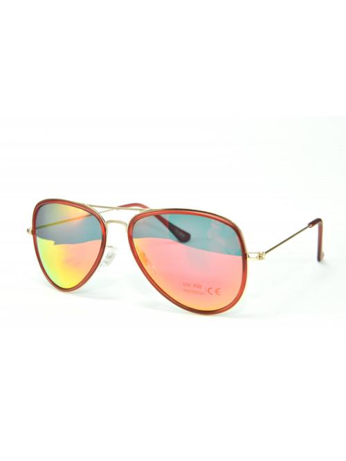 Sluneční brýle Aviator Pilot XS Red