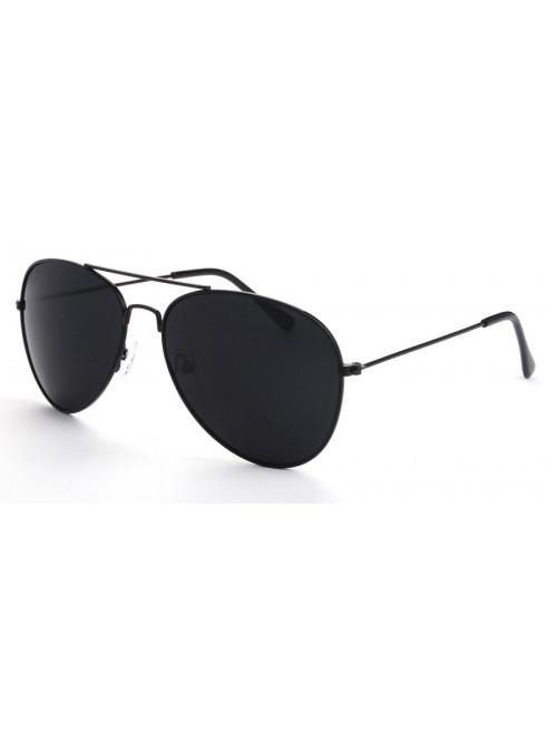 Sluneční brýle Aviator Pilot Black