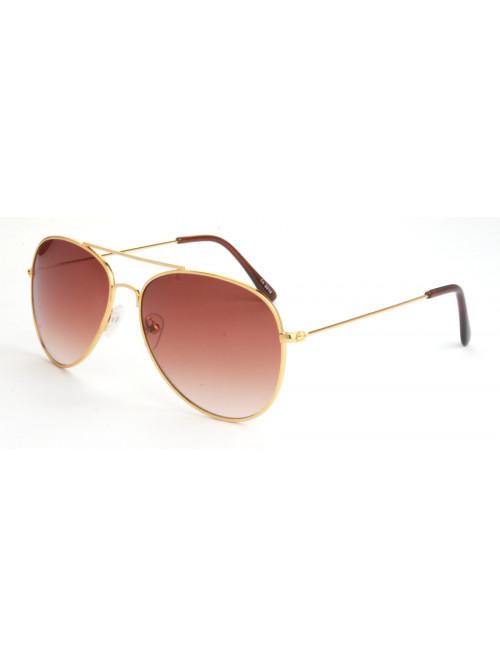 Sluneční brýle Aviator Pilot Gold