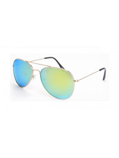 Sluneční brýle Aviator Pilot Green