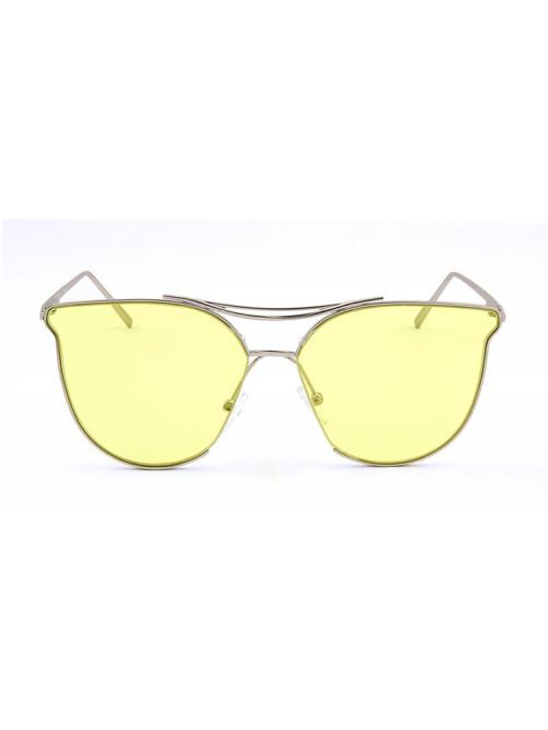Sluneční brýle Aviator Lady Yellow