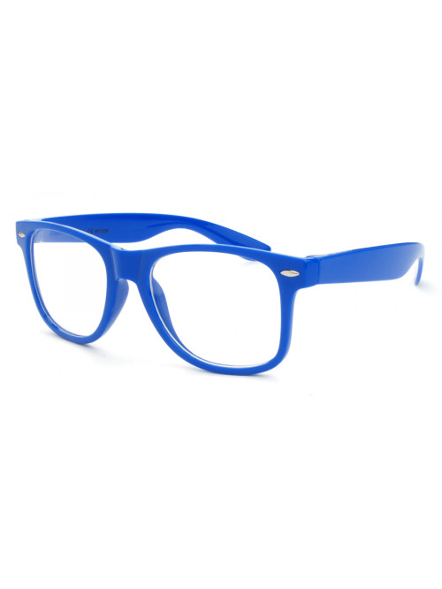 Brýle Wayfarer Blue Nerd