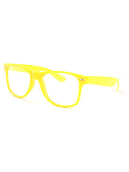 Brýle Wayfarer Yellow Nerd