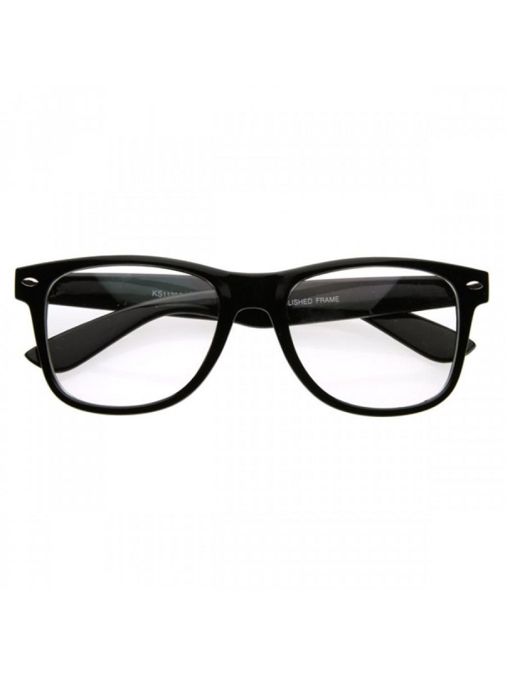 71bd71889 Brýle Wayfarer Black Nerd; Brýle Wayfarer Black Nerd