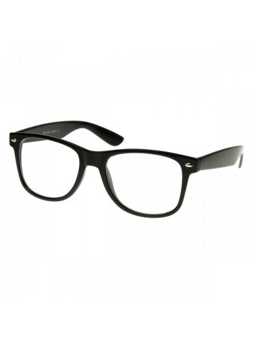 Brýle Wayfarer Black Nerd
