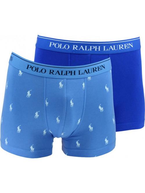 Pánské boxerky Polo Ralph Lauren Classic Trunk Stretch Cotton 2-pack modré