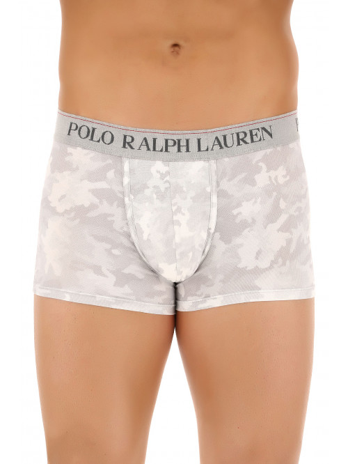 Pánské boxerky Polo Ralph Lauren Classic Trunk Grey Digital Camo šedé