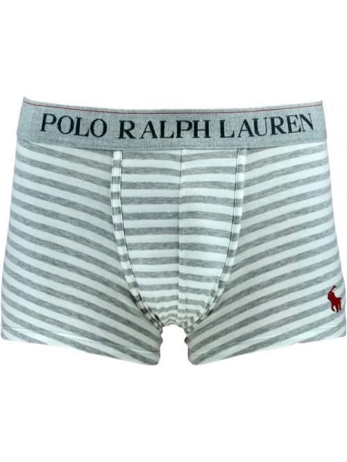 Pánské boxerky Polo Ralph Lauren Spring Heather Nevis Stripe šedé