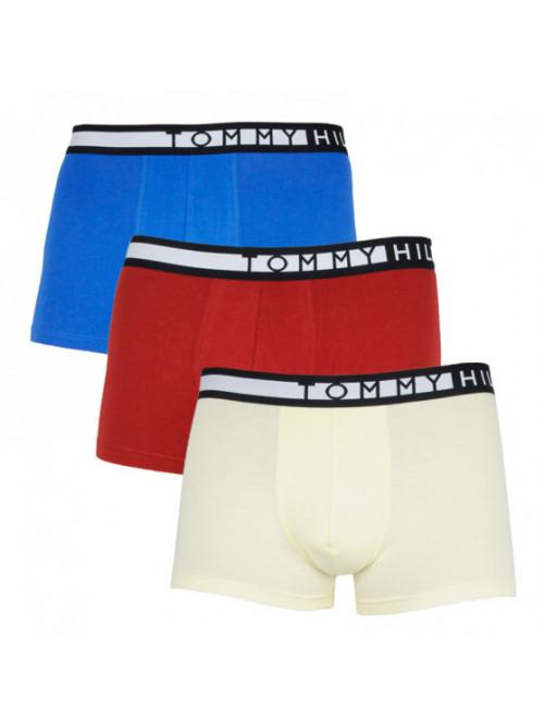 Pánské Boxerky Tommy Hilfiger 3-pack modré, žluté, červené