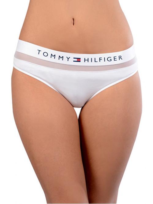 Dámské kalhotky Tommy Hilfiger Sheer Flex Bikini bílé