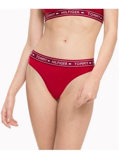 Dámské kalhotky Tommy Hilfiger Brazilian Pants červené